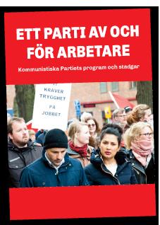 vänsterpartiet kommunisterna partiprogram