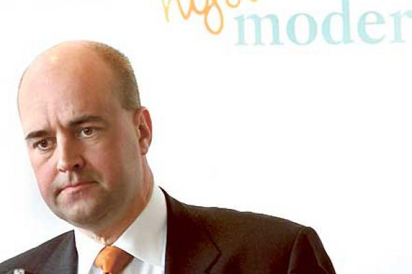 Fredrik Reinfeldt på repeat.