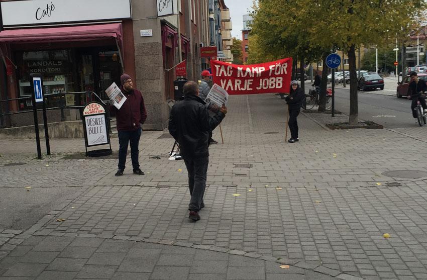 S protest mot nedlaggningar