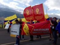 RKU på Världsungdomsfestivalen i Ecuador.