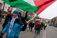 Demonstration för Palestina i Göteborg.