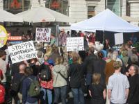 Lyckad manifestation i Uppsala