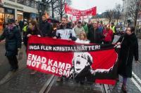 Antirasistisk demonstration i Göteborg.