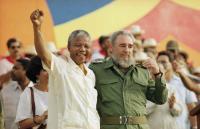 Mandela och Castro.