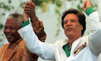 Mandela och Khaddafi.